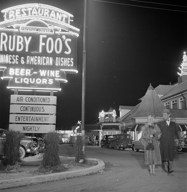 Montreal roadhouse, 1951. (SOURCE: Library and Archives Canada, MIKAN no. 3615424)