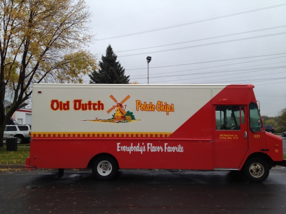 Old Dutch delivery truck in Minneapolis (photo by Janis Thiessen)