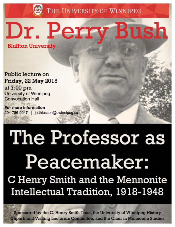 The Professor as Peacemaker