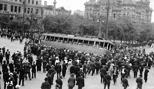 1919 Strike streetcar